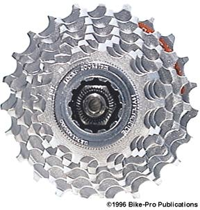 NOS! Shimano CS-HG70 7 speed HG Hyperglide-C cassette lockring lock ring nut